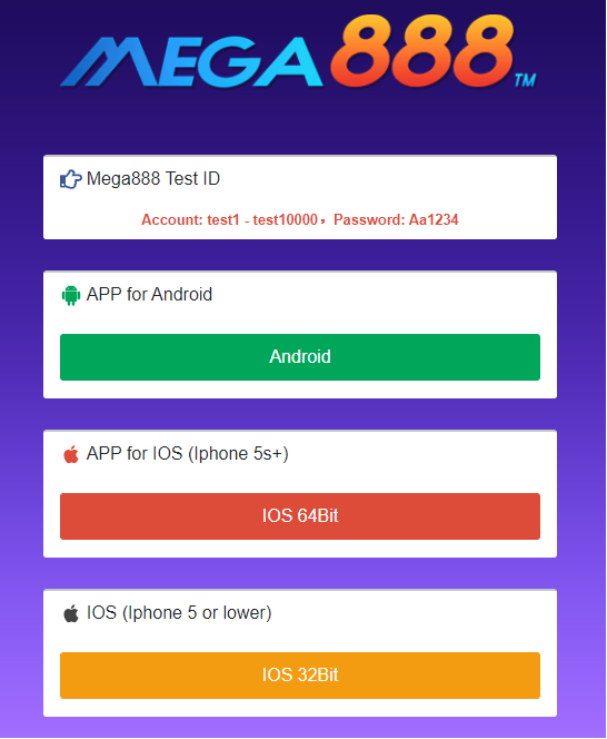 How To Download Mega888 For The Malaysian Market ...